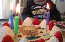 絵本を幼児に読み聞かせるブログ-ケーキ